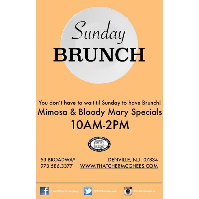 Join us this Sunday for Brunch! #y  um #localpub #breakfast