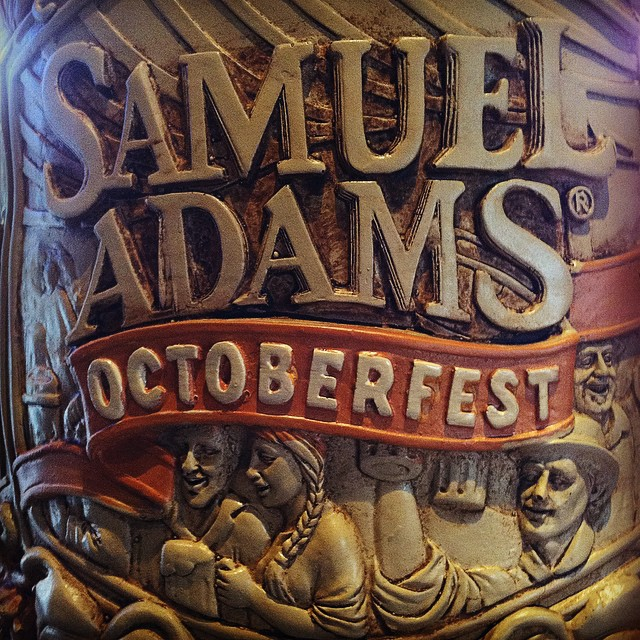 Test your strength and endurance today at our OCTOBERFEST! Raise your stein in celebration! It starts at 4 in the bar area! #octoberfest #samadams