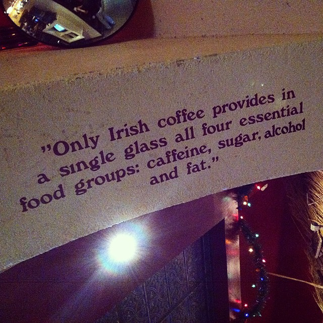 Words to live by on a Sunday morning #quote #brunch #coffee #irish